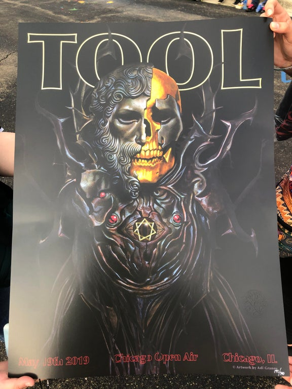 May 19 2019 Open Air Festival Chicago Tool Poster Archive